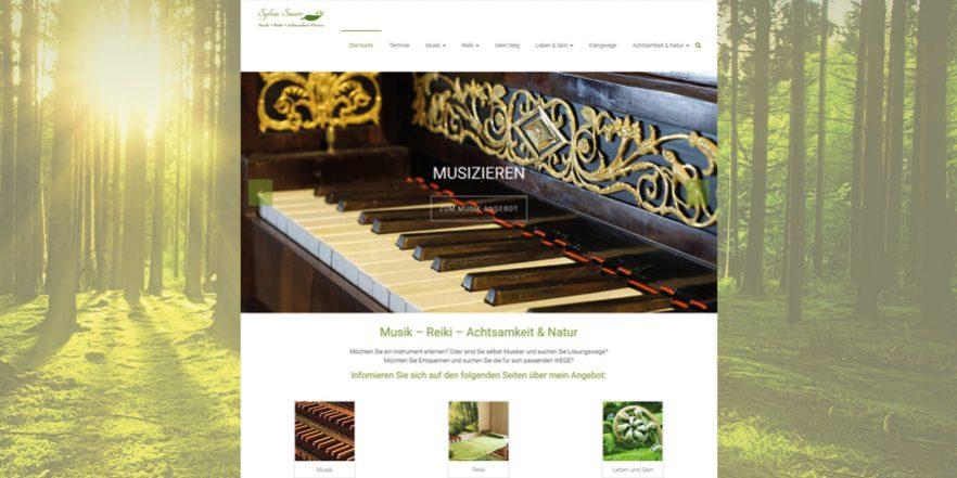 Wordpress Webseite Für Musikerin Wunderbar Design